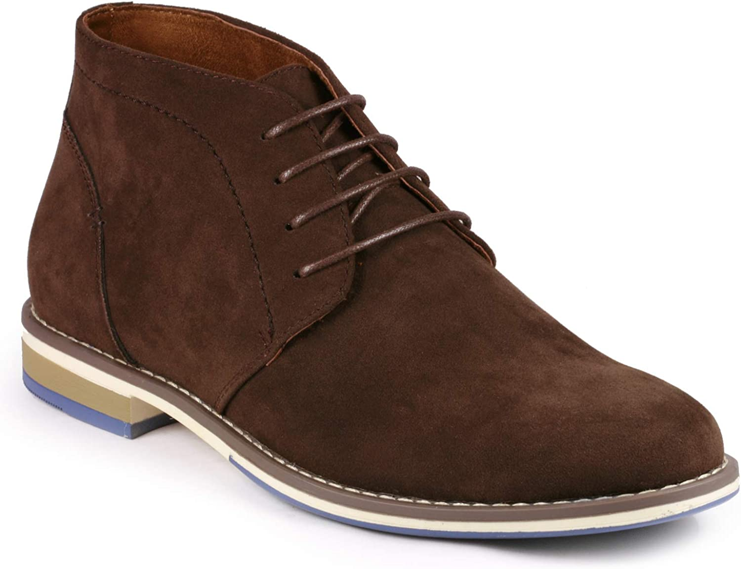 Metrocharm MC131 Mens Lace Up Casual Fashion Ankle Chukka Boot