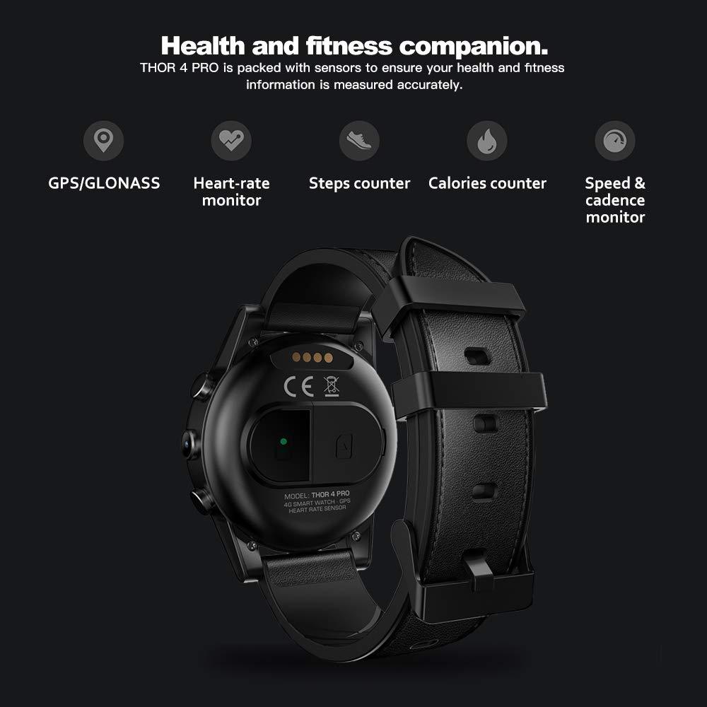 HX0945 Thor 4 Pro Reloj Elegante WiFi De La Cámara del Ritmo ...