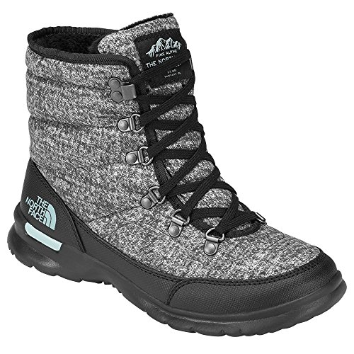 Boots Snow North Women's 5qp Blue Houndstooth The Ii Lace Thermoball Burnished Haze Face Grey Print 0aYYxH