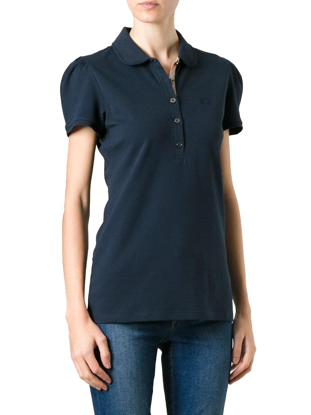 BURBERRY - Women's Polo YSM70254 - Blue (Dark Navy), S by BURBERRY (Image #1)