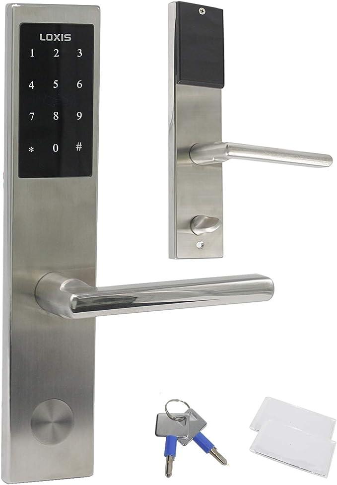 Smart Electronic Digital Code Keyless Keypad Security Entry Door Lock+5 key tag