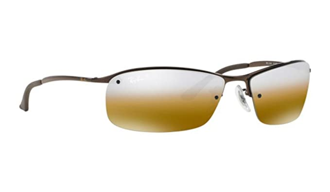 3668e98367975f Image Unavailable. Image not available for. Colour  Ray-ban Polarized  Mirror Brown RB 3183 014 84 63mm Sunglasses ...