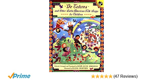 Amazon com: De Colores and Other Latin American Folksongs