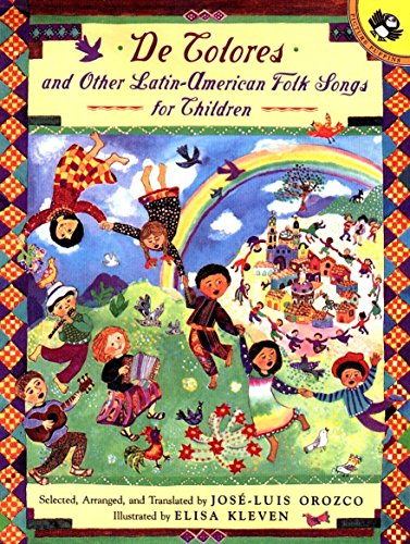De Colores and Other Latin American Folksongs for Children (Anthology) (Spanish Edition) ()