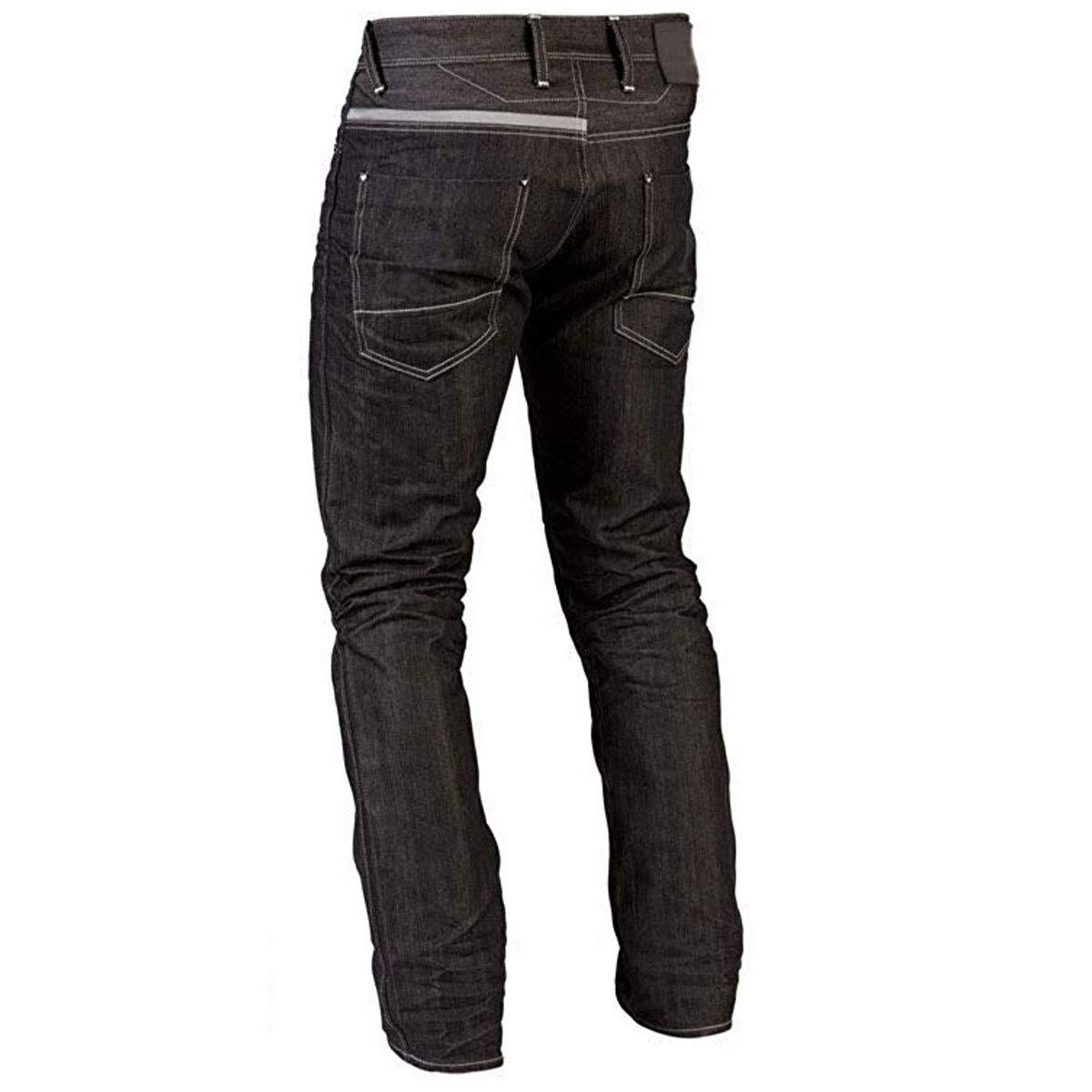 479bf2ab06 Juicy Trendz Hombre Motocicleta Pantalones Moto Pantalón Mezclilla Jeans  con Protección Aramida Negro  Amazon.es  Ropa y accesorios