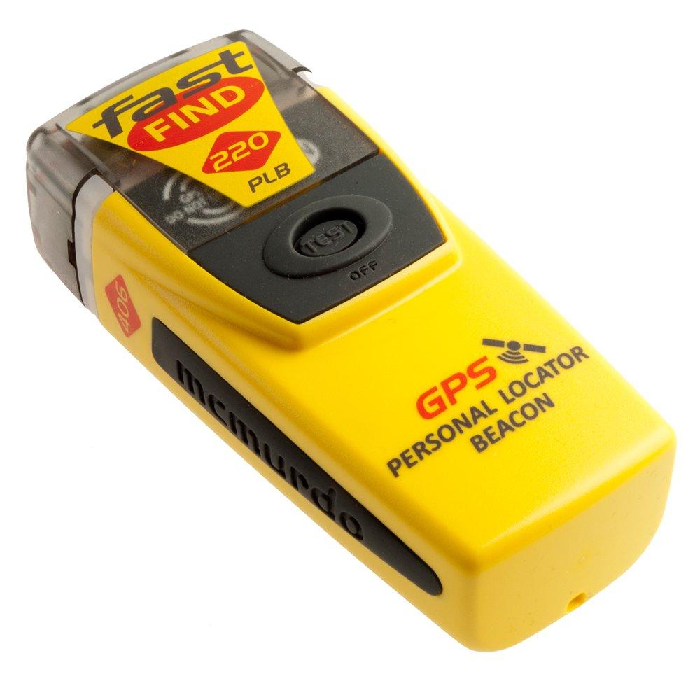 McMurdo 91001220A Balise de détresse personnelle Fast Find 220