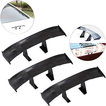 "Universal Mini Spoiler Auto Car Tail Decoration Spoiler Wing Carbon Fiber 6.7/"""