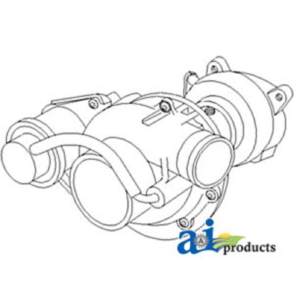 Amazon.com: A-SBA135756171 Ford New Holland Parts Turbocharger ... on