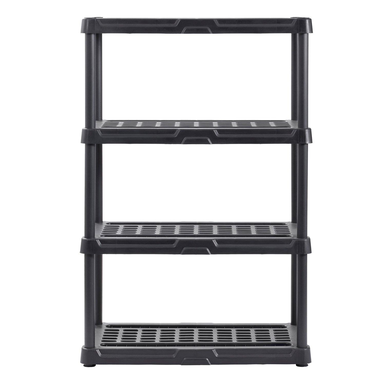 マッスルラックps362456 – 4bプラスチック棚、幅36
