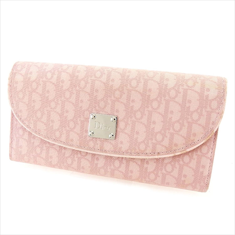 [ディオール] Dior 長財布 ファスナー付き 財布 レディース トロッター 中古 T2461 B0772PPKPT