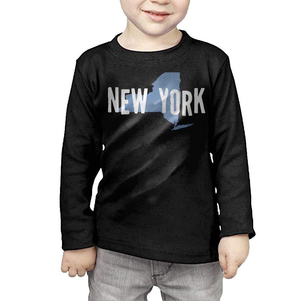 CERTONGCXTS Little Boys State of New York-1 ComfortSoft Long Sleeve Tee