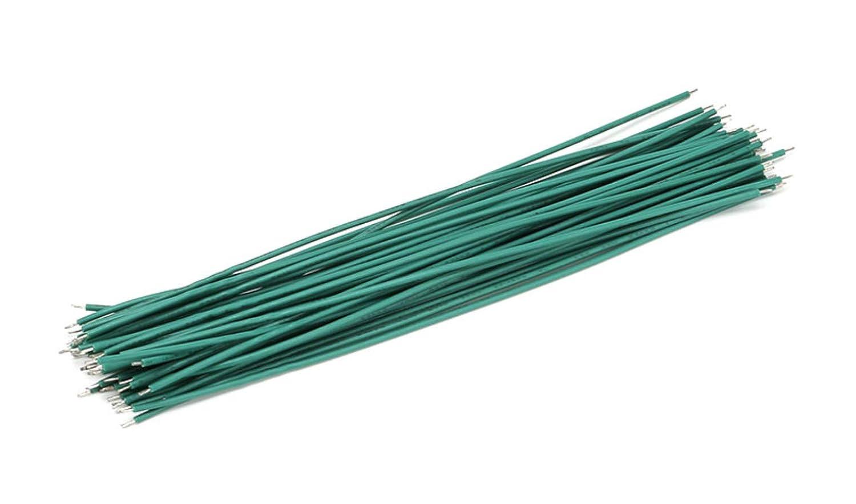 10 CAVO ELETTRICO UNIPOLARE AWG 24 15cm ELETTRONICA rame stagnato filo elettrico nero