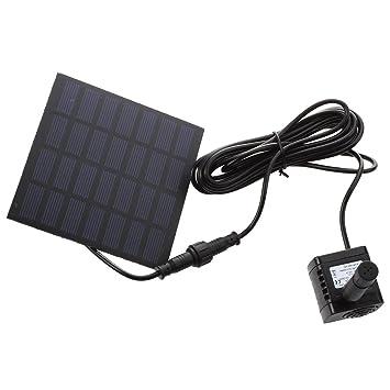 TOOGOO(R) POMPE A EAU ENERGIE SOLAIRE POUR FONTAINE JARDIN BASSIN ...