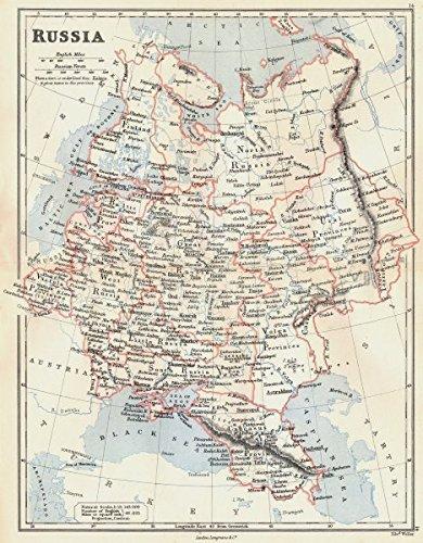 Amazon Com European Russia Caucasus Georgia Vistula Poland Livonia