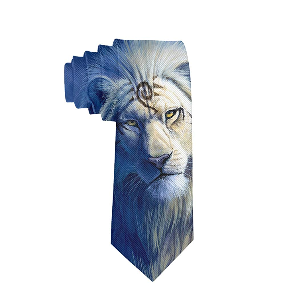 Wedding Party Polyester Necktie Creative Gift Mens Novelty Necktie
