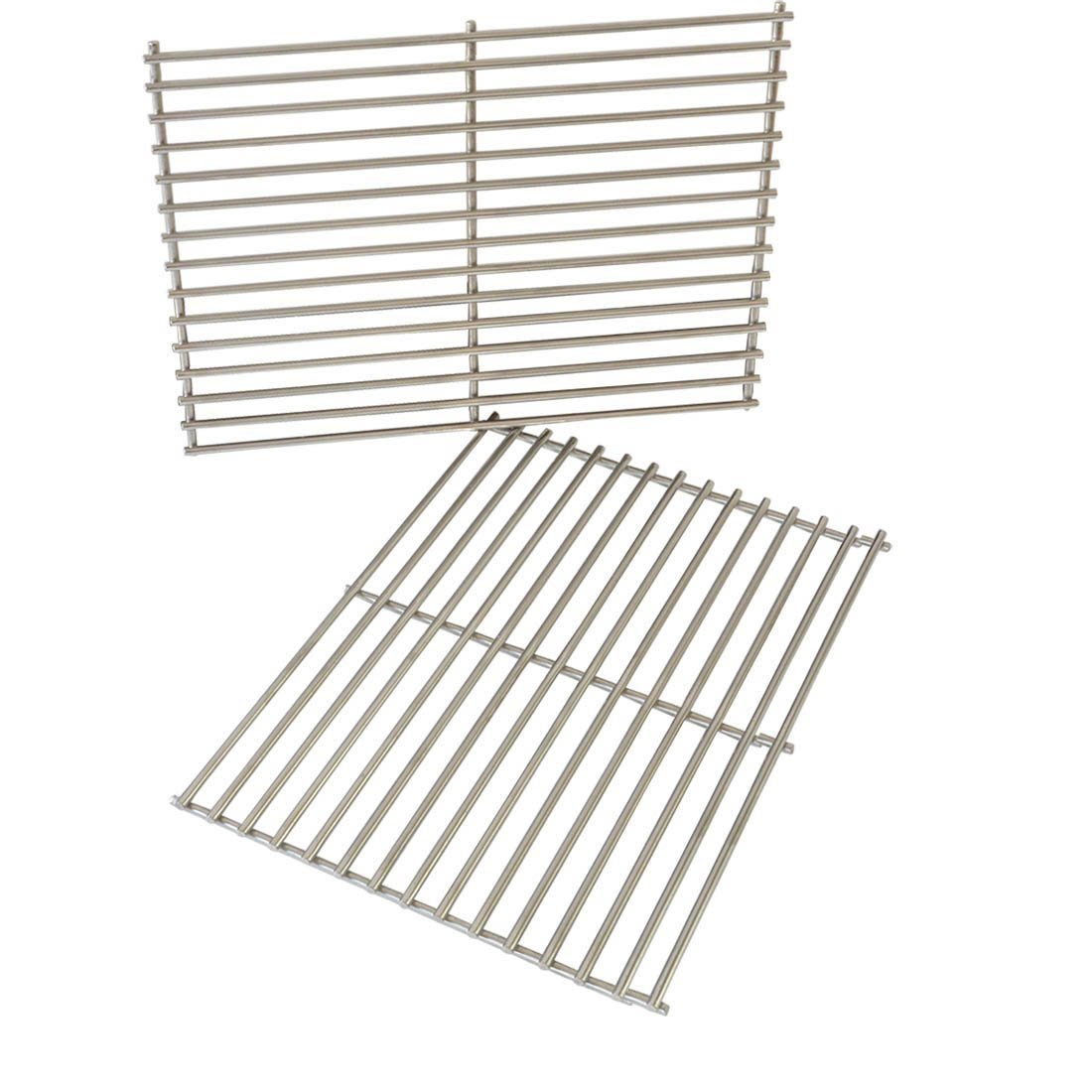 Onlyfire Replacement BBQ Stainless Steel Cooking Grill ROD Grid Grates for Weber 7528 Spirit and Genesis E and S seriesModels Grill, Set of 2 8506