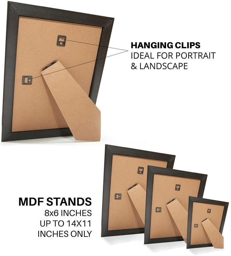 50 x 70cm Memory Box Wide Bucharest Range Frame Picture//Photo//Poster frame Silver Distressed 19.6 x 27.5