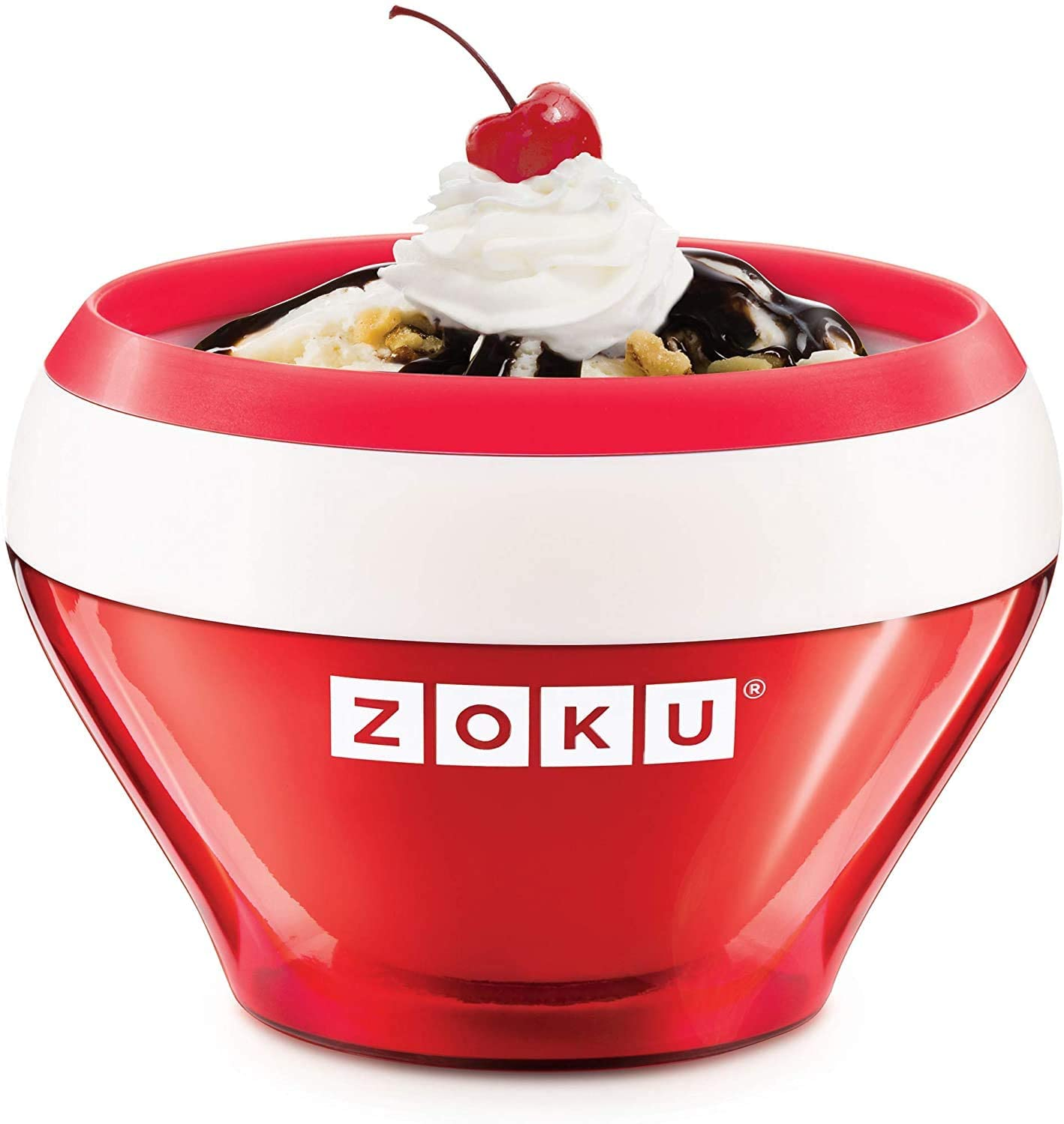 Zoku Coca-Cola Float  Slushy Maker Retro Make And Serve Cup With Freezer Core