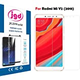 JGDWORLD Xiomi Redmi Mi Y2 Flexible Tempered Glass/Full Edge to edge/3D,5D Gorilla Glass