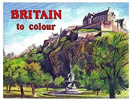 Britain à COULEUR adultes PEINTURE & Coloriage Books Famous Monuments & Campagne 740 WF Graham