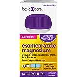 Basic Care Esomeprazole Magnesium Delayed Release Capsules, 20 mg, Acid Reducer, 14 Count