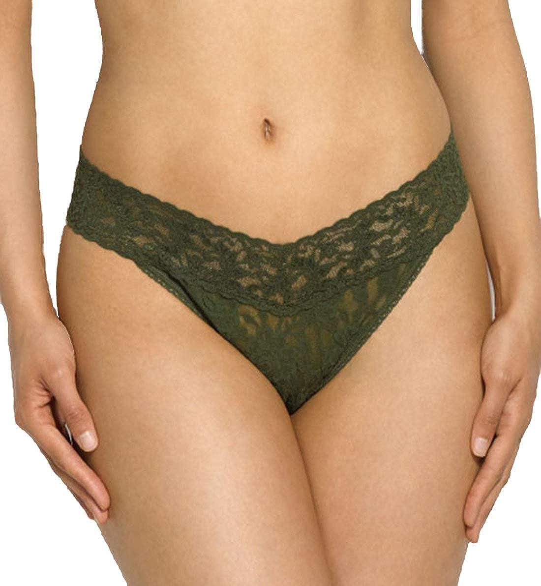 Hanky Panky Womens Maternity Signature Lace Original Rise Thong