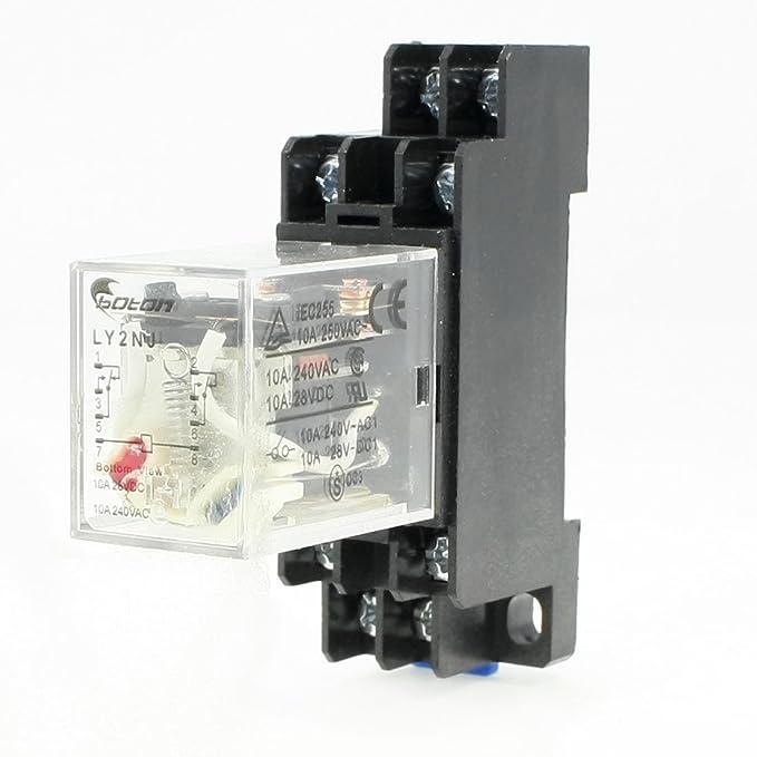 6 opinioni per Sourcingmap- Relè Di Potenza 10A Elettromagnetico Din 8 Spine Bobina Ac 220V Con