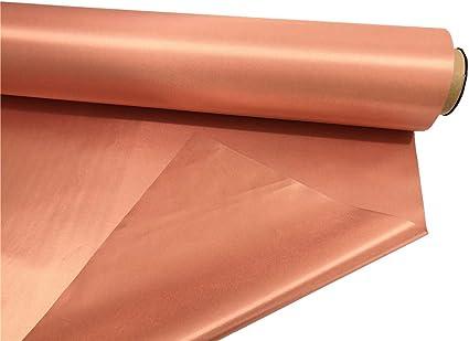 "EMF RFID RF Shielding Copper Fabric Roll 44/"" x 1/' of Material"