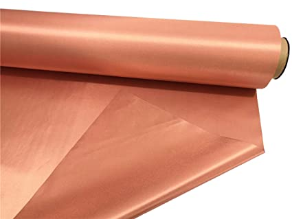 BLOCK EMF RFID EMI RF Shielding Copper Nickel Plated Conductive Electromagnetic on