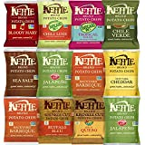 Kettle Brand Potato Chips, Individual Single Serve Bags, Many Different Flavors Sampler Variety Pack (12 Count)