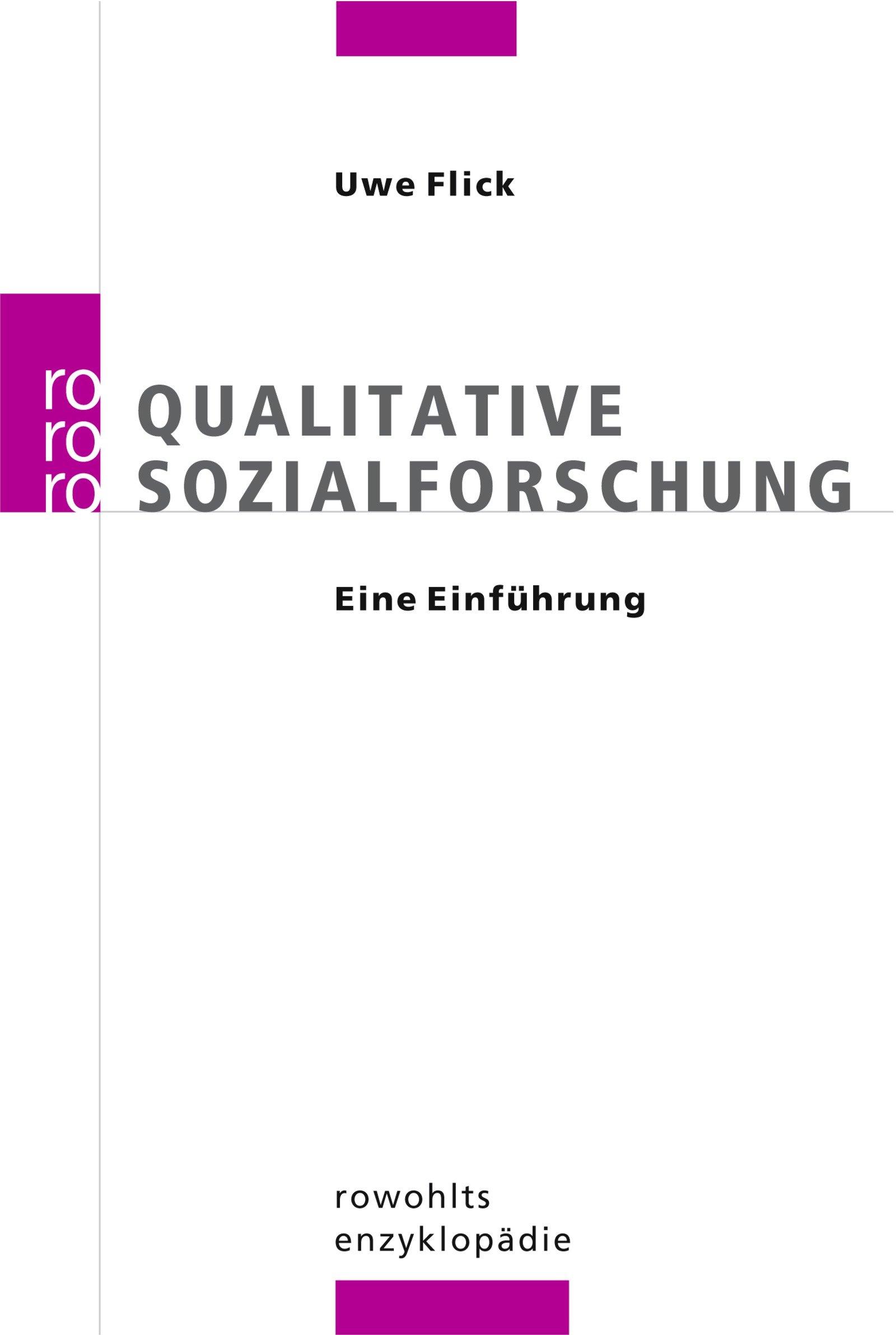 Qualitative sozialforschung entscheidungsproblem bwl