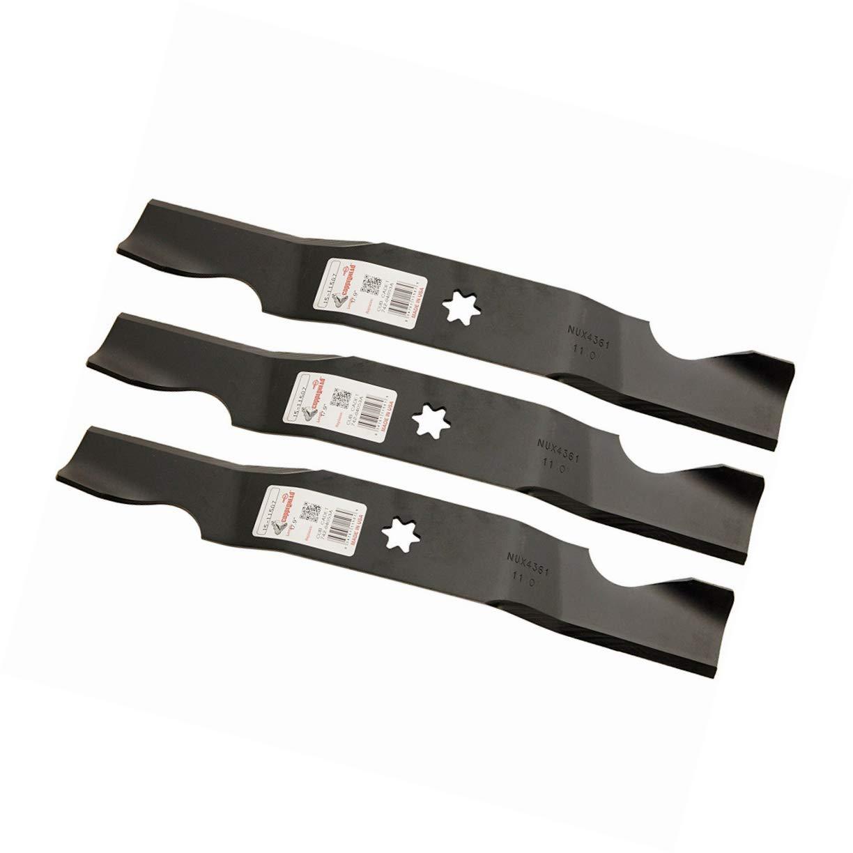 LawnMowerParts 3 Cuchillas de cortacésped Resistentes para Toro ...