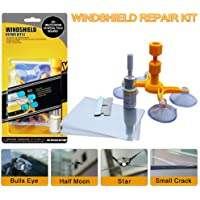 LIFEDE Kit de reparación de parabrisas, kit de reparación de virutas de parabrisas, herramienta de reparación de…