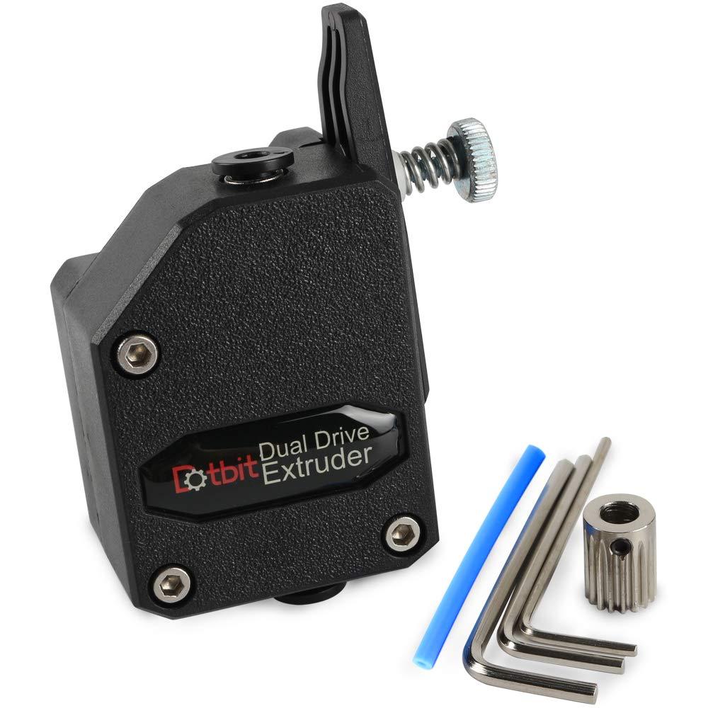 High Performance BMG Extruder Cloned Btech Bowden Extruder Dual Drive Black