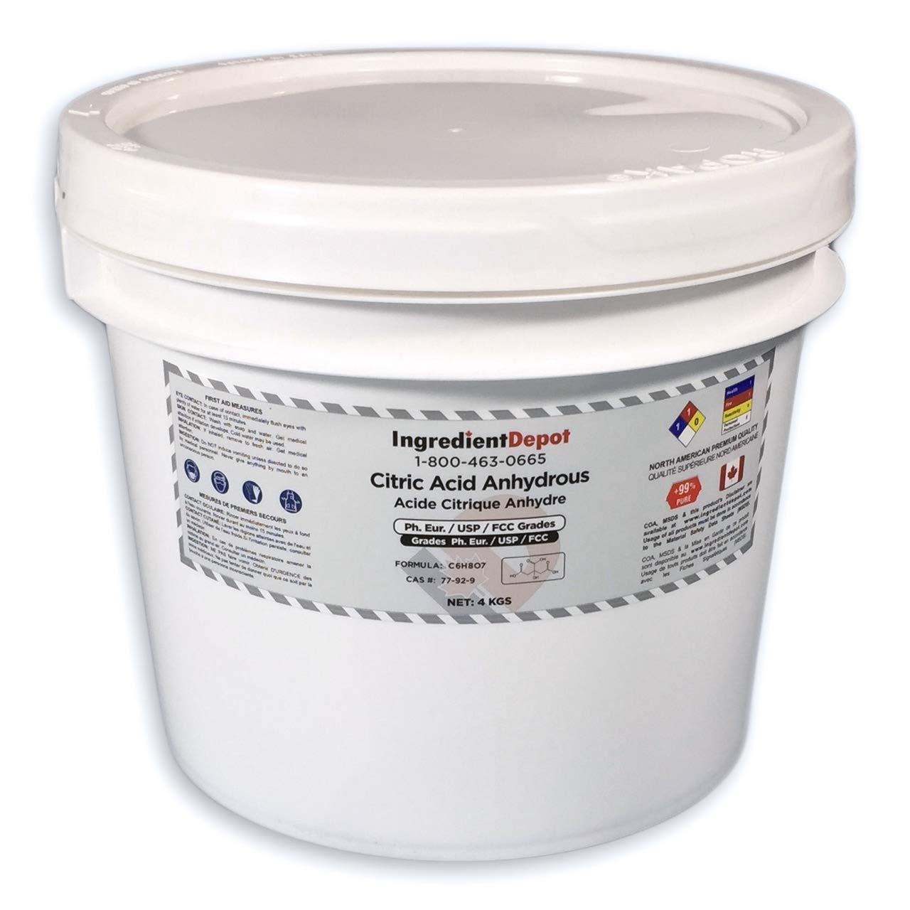 Citric Acid Anhydrous USP Food Grade | 4 kgs