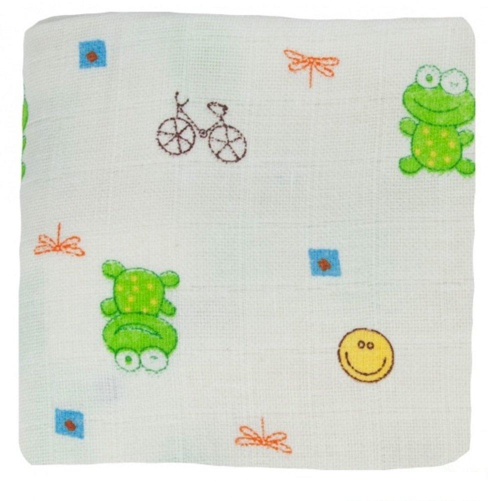 Baby Reinigungstücher 3 Stck. 17x17cm Froggy Bio Popolini