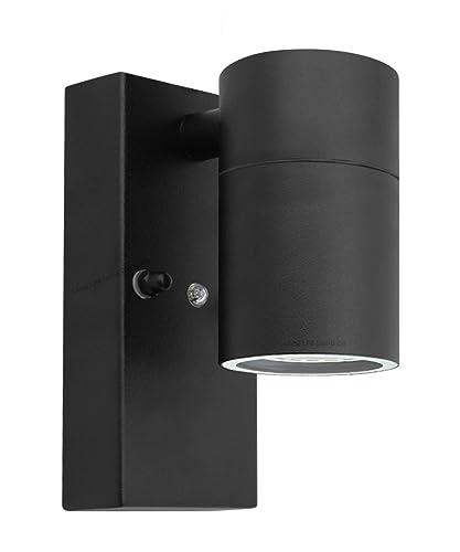 Outdoor Wall Lights Dusk Till Dawn: Outdoor Up Down Wall Light Dusk Till Dawn Sensor Stainless