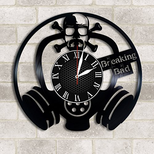 Olha Art Design Breaking Bad Vinyl clock, Breaking Bad decor Breaking Bad wall poster Breaking Bad Breaking Bad fan gift Breaking Bad music Womans Day