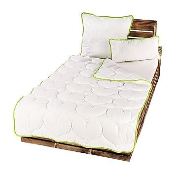 Microfaser Ganzjahres Bettdecke Steppbett Zudecke Schlafdecke 200 x 200 cm