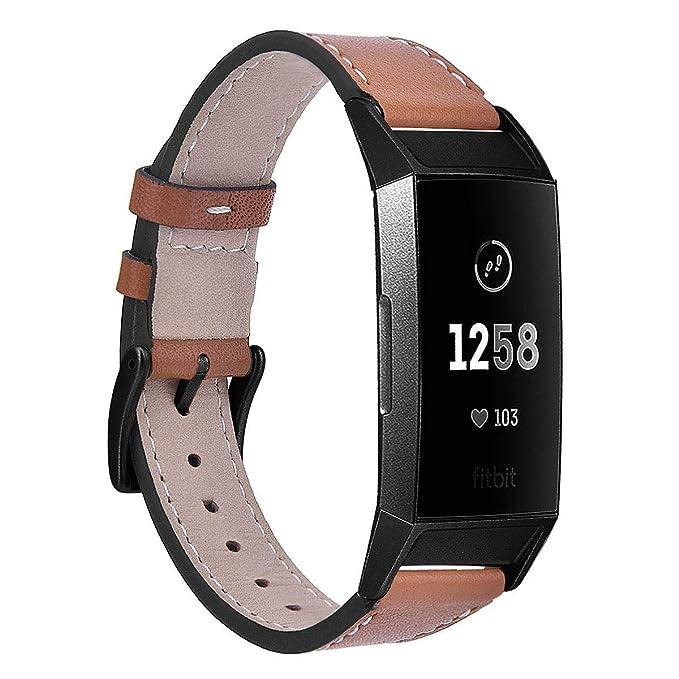 Coreda - Pulsera Compatible con Fitbit Charge 3 Bandas para Mujer ...