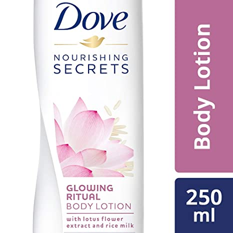 Buy Dove Glowing Ritual Body Lotion 250ml Online At Low Prices In