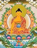 Gautam Buddha (Tibetan Buddhist) - Tibetan Thangka Painting