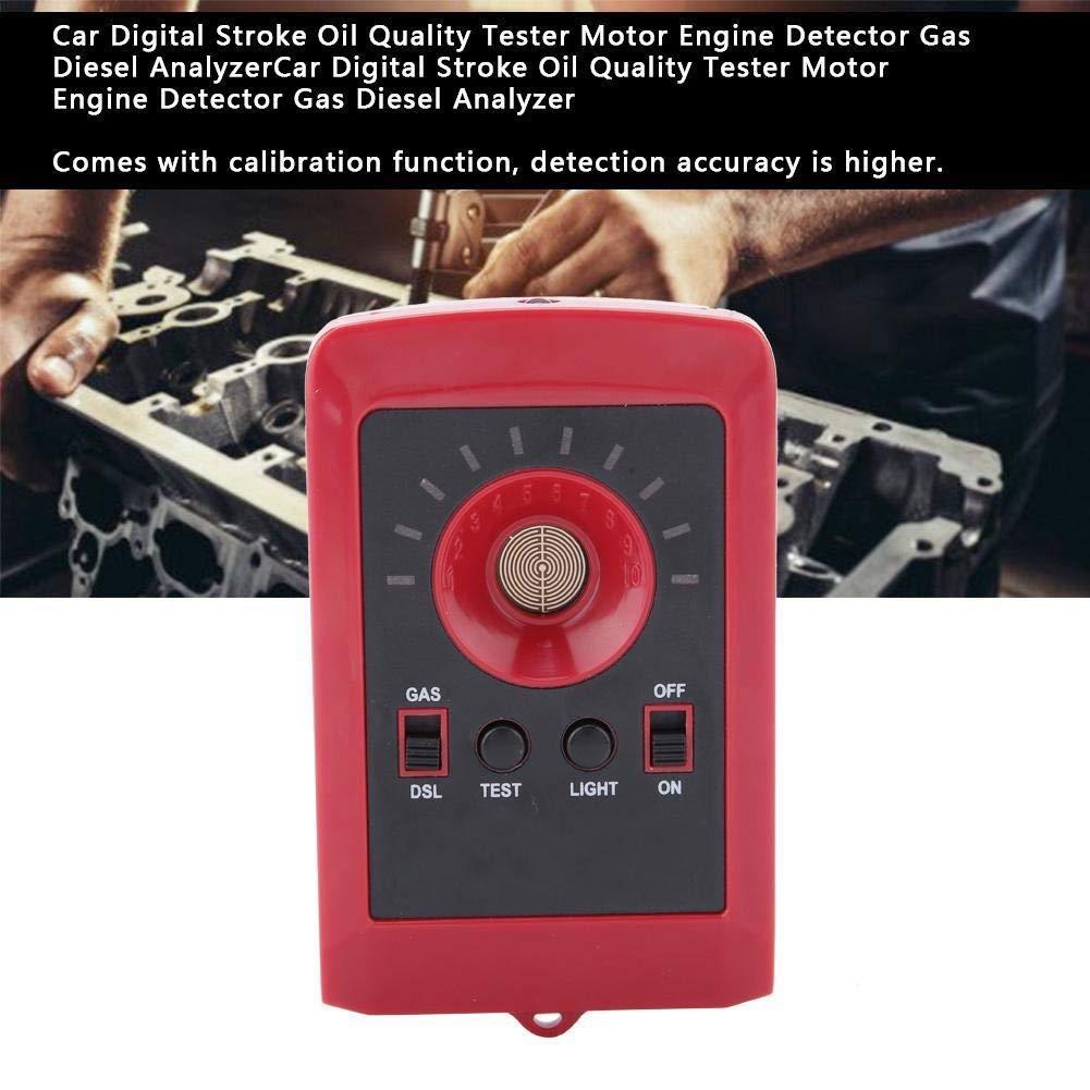 Analyseur dhuile analyseur Diesel de gaz de d/étecteur de Moteur de Moteur de testeur de qualit/é dhuile de Course de Voiture de Digital