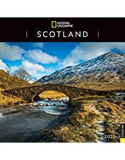 National Geographic: Scotland 2022 Wall Calendar