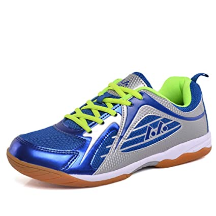 Anti-twist Shock Absorption Professional Fitness Training Sports Shoes Breathable Comfort Suitable For Multiple Sports Indoor Shoes,A,36 YPPDSD Badminton Shoes