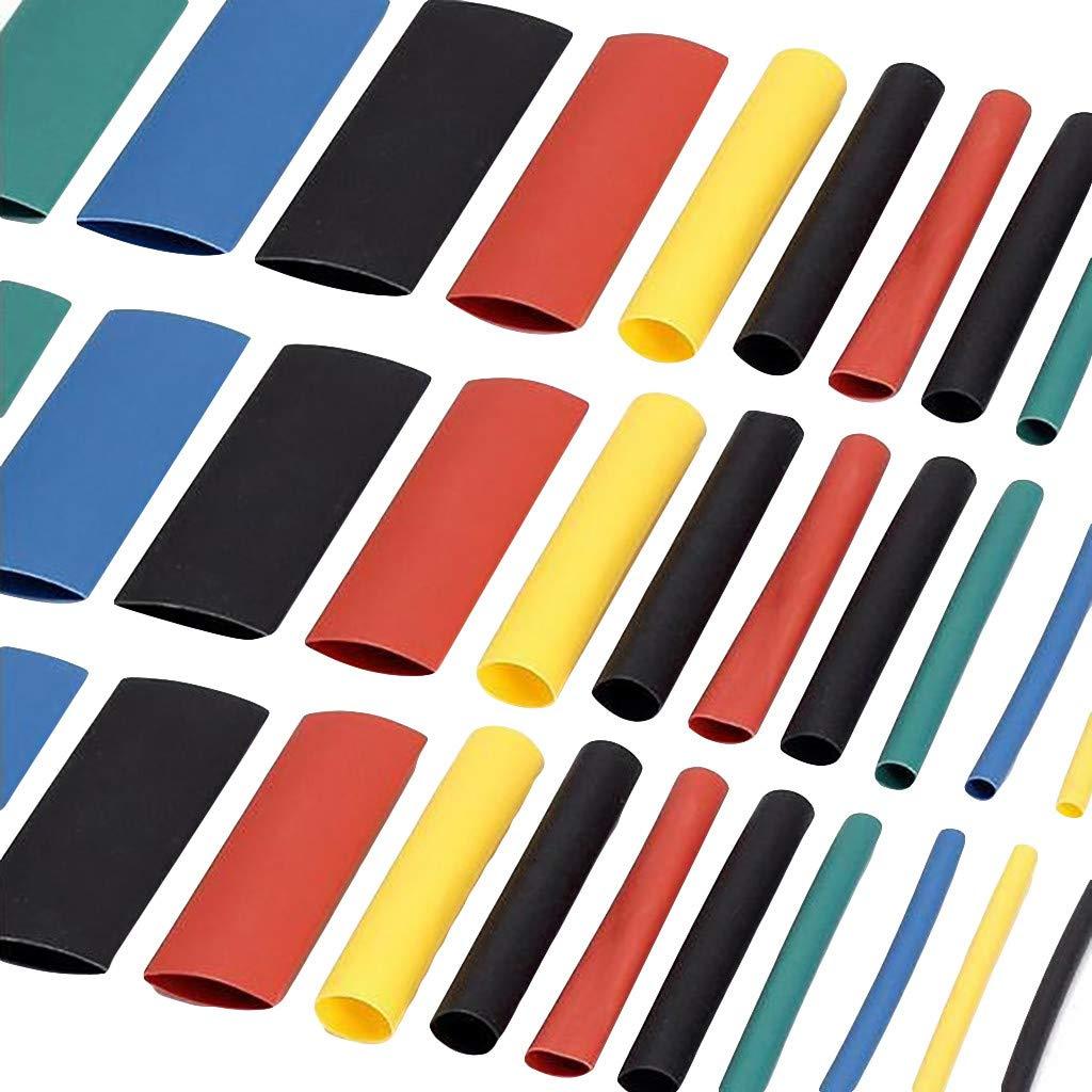 Fdrone iFlight 530Pcs Colorful EP Flame Retardant Heat Shrinkable Insulating Sleeve Red