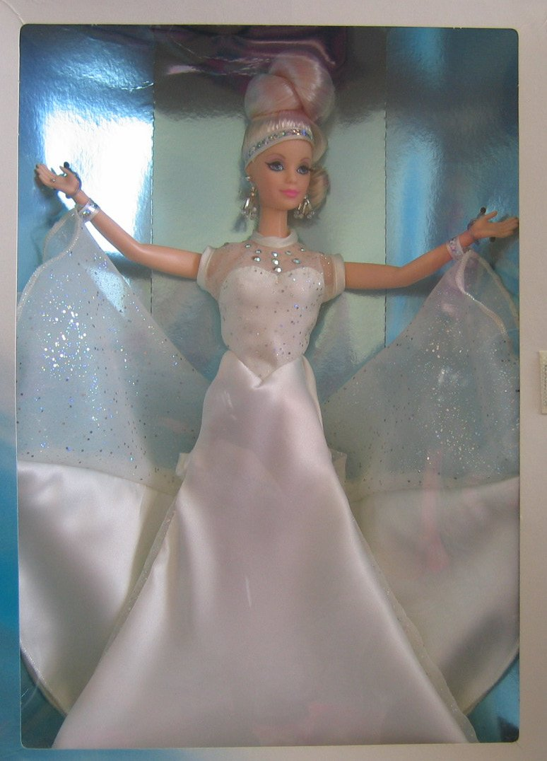 1996 Mattel 15461 Starlight Dance Barbie Doll Classique Collection Collector Edition 5th in Series