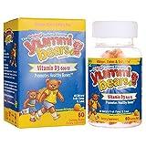 Cheap Yummi Bears Vitamin D3 Gummy Vitamin Supplement for Kids, 60 Gummy Bears