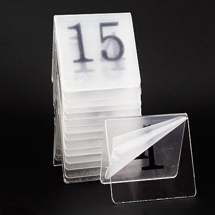melleco 15 piezas número de mesa tienda estilo acrílico boda ...
