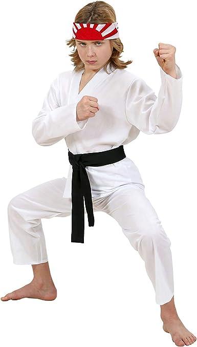 Widmann Disfraz infantil de Karate Kid, multicolor, 140 cm (73067) , color/modelo surtido: Amazon.es: Ropa y accesorios